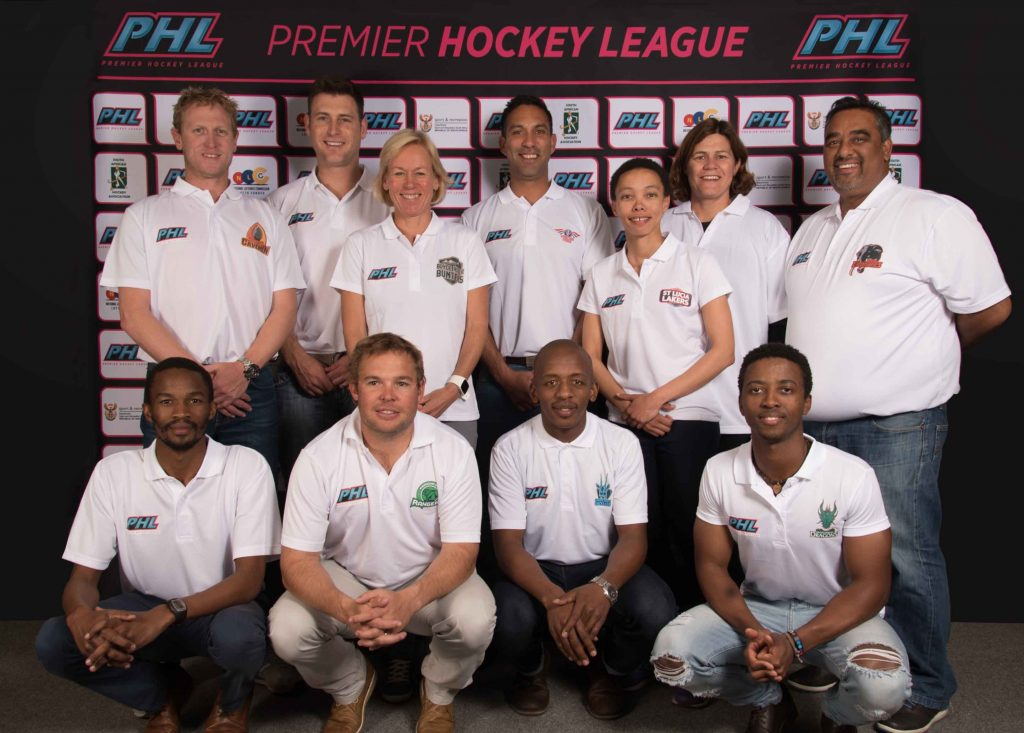 The PHL coaches at the 2016 player draft